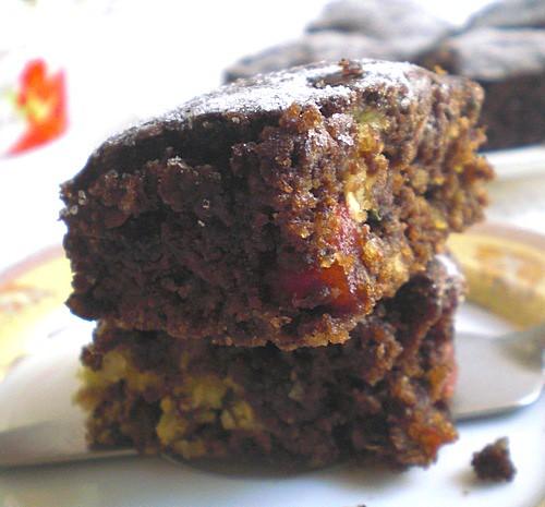 A Cake, A Brownie and a Zucchini