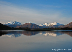 Loch Leven (Cameron Burns) Tags: lochleven ballachulish glen coe glencoe loch leven winter scotland highlands water lake mountains snow sky beautiful stunning scenic mountain bridge railway uk europe forest