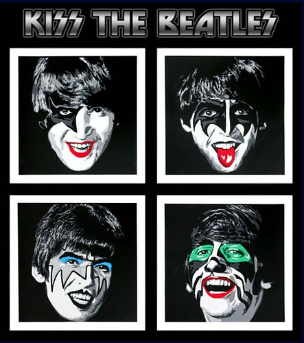 Kiss The Beatles