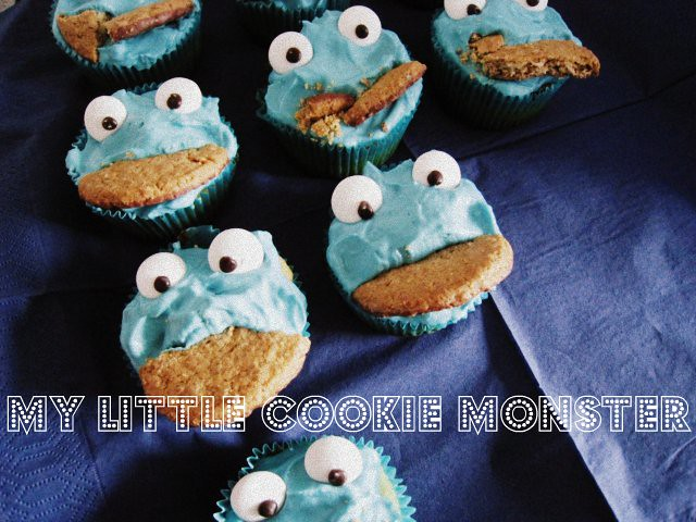 Monday, Monday...or all these little cookie monster...