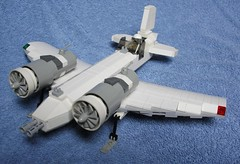 "FE-02 ""Icicle"" (fernQ) Tags: fighter lego jet skyfi"