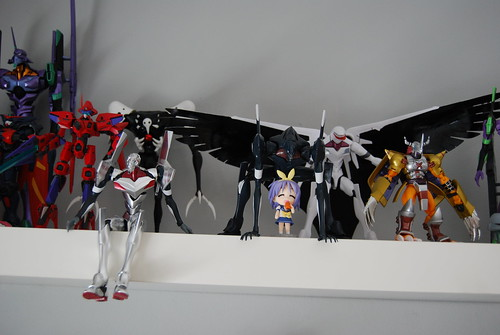 Model kits plus D-Arts Wargreymon
