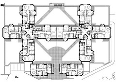 Ground Floor Plan of the Flats