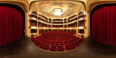 Le Grand Théâtre - Angers (Jerome Boccon-Gibod) Tags: panorama theatre 360 fresque angers coupole italienne