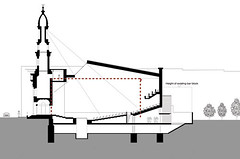 Proposed Section Through Building