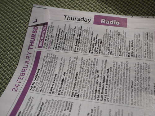 Dog-eared Radio Times