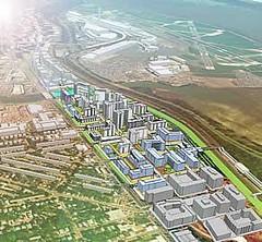 North Potomac Village master plan, Alexandria VA (by: Antunovich Associates via Washington Smart Growth Alliance)