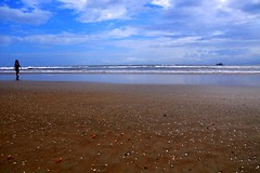 Betalbatim Beach in South Goa - Explored! (@mons.always) Tags: ocean sky shells reflection beach nikon goa idyllic betalbatim d90
