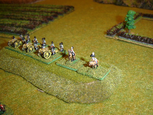 Generals with Heavy Artillery
