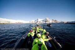 RIB from Ski (Svinya Rorbuer) Tags: ski vinter rib fisk svinya trollfjorden