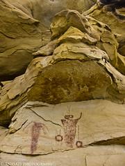 Last Short Canyon Panel (IntrepidXJ) Tags: sanrafaelswell pictographs rockart utah shortcanyon molenreef moore coloradoplateau barrier adventr randylangstraat anasaziphotography