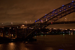 Bayonne Steel  Bridge New York - New Jersey (S@ilor) Tags: new york bridge light usa newyork night newjersey ironbridge jersey steelbridge 1001nights eastern underthebridge mignon bayonnebridge seaborder silor easternseaborder 1001nightsmagiccity nighttransit bayonnesteelbridge
