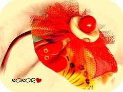 Diadema Natalia I (KOKORO Heartmade) Tags: fiesta nia diadema nena pelo cabello kokoro divertido complemento accesorio tocado