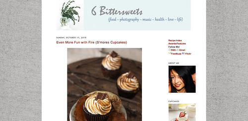 Blogs I love - 6 Bittersweets