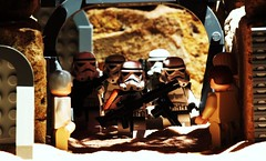 """They're at Docking Bay 94."" (Blockaderunner) Tags: mos star lego wars eisley tatooine sandtroopers"