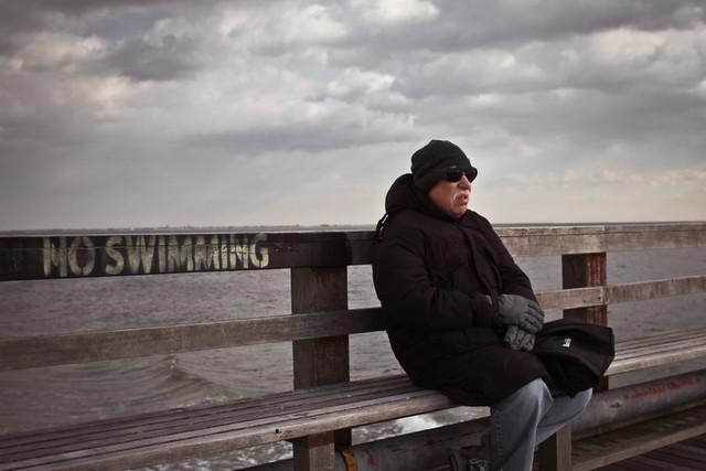no swimming by Barry Yanowitz