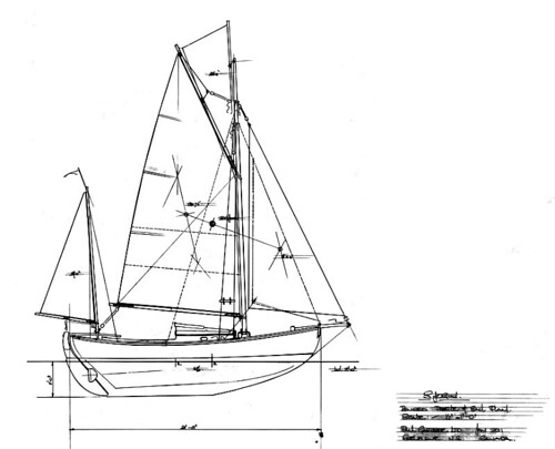 Sjogin Plans progress – Hove to off Swan Point