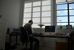 Hjemmekontor (lonerasser) Tags: ole frederiksberg kontor lejlighed skygger