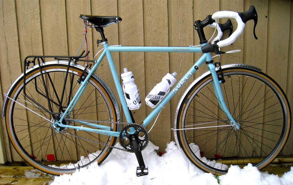 My Gf S Surly Cross Check Commuter Bike Bike Forums