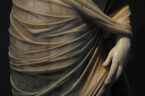 Exquisite carving in marble