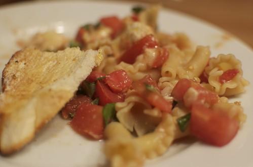 Tomato Brie Fusili