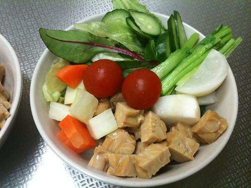 朝食サラダ(2011/3/1)