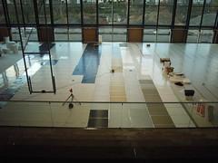 (scholl architekten partnerschaft) Tags: arena halle beton fassade neubau sporthalle tribne