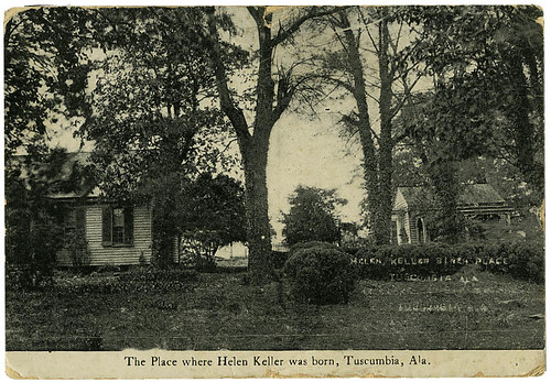 Helen Keller post card_tatteredandlost