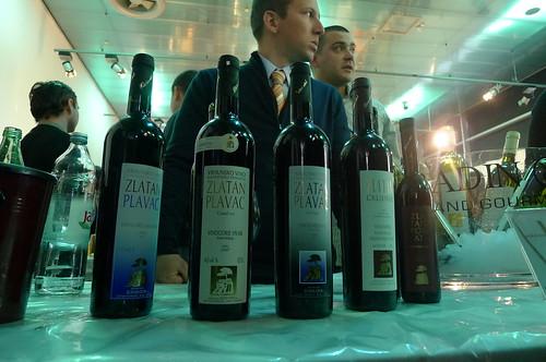 Zlatan Plenković's wines at Zagreb Wine Gourmet 2011