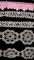 tatting and crochet