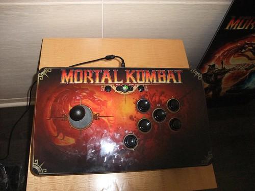 Mortal Kombat arcade stick