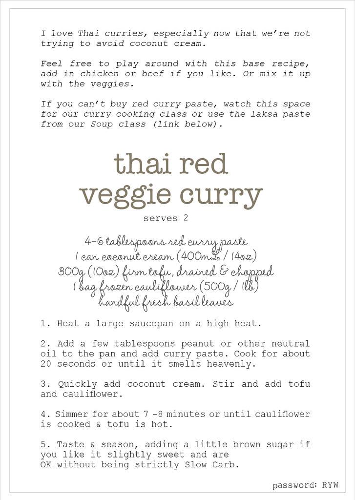 w3 thai red veggie curry recipe