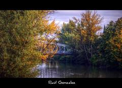 Puente de Hierro (raulmahon) Tags: bridge espaa ro river puente spain rb