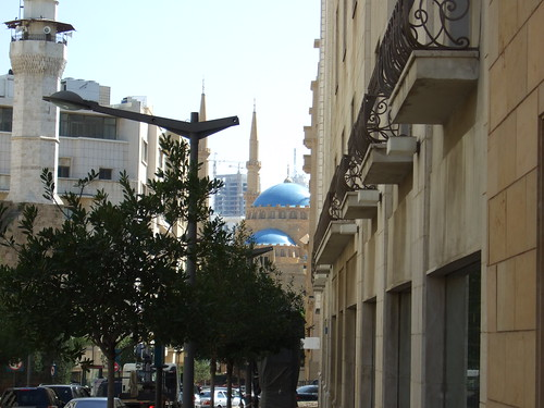 Mosque in Distance