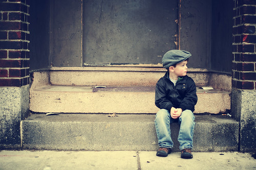 フリー写真素材, 人物, 子供, 少年・男の子, 帽子・キャップ, 横顔, アメリカ人,