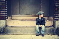 [フリー画像] 人物, 子供, 少年・男の子, 帽子・キャップ, 横顔, アメリカ人, 201103100700