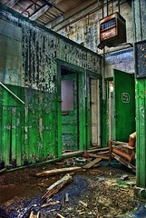 Dixie Beer Brewery - New Orleans, LA (Ron Foxx) Tags: green abandoned beer photoshop katrina nikon rust louisiana decay interior neworleans ruin brewery noiseninja fading decline hdr corrosion blight crescentcity crumbling wasting bigeasy downfall disrepair lucisart dixiebeer failing ruination photomatix wastingaway depreciation d80