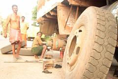 repairing (ivana rambaldi) Tags: people woman india man men hands women asia prayer praying poor kerala sacred madurai tamil kochi tamilnadu trivandrum kanyakumari southindia sacro