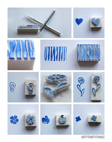 stamping fever tutorial, kids craft ideas