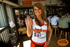 """Welcome to Hooters"" (originalhooters) Tags: hello tampa florida hooters fl clearwater hootersgirls originalhooters meetahootersgirl allisoncurtis"