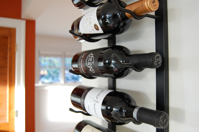 our wine rack