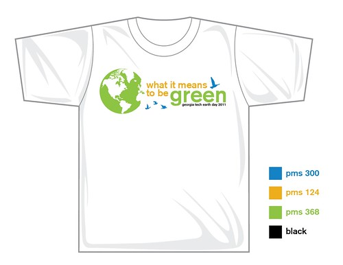 official earth day 2011 logo. GT Earth Day 2011 Logo | 2