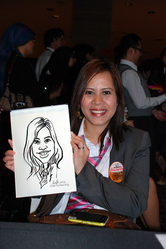 Caricature live sketching for Swire Pacific Offshore & The China Navigation Company Pte Ltd Annual D&D - 10