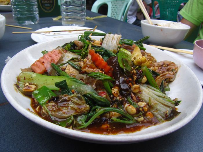 Stir Fried Vegetables Mix, Burma