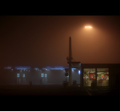 (galadh_007) Tags: fog canon nebbia notturno autostrada
