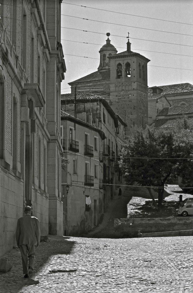 Iglesia de Santa Leocadia en Toledo hacia 1967. Fotografía de John Fyfe