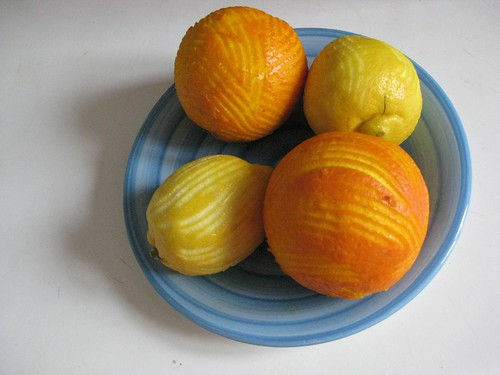 zested citrus