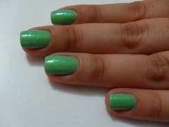 214 + Sandy 01 (Vivi Kermeci) Tags: verde sandy hits unha 214 esmalte flocado sancionangel
