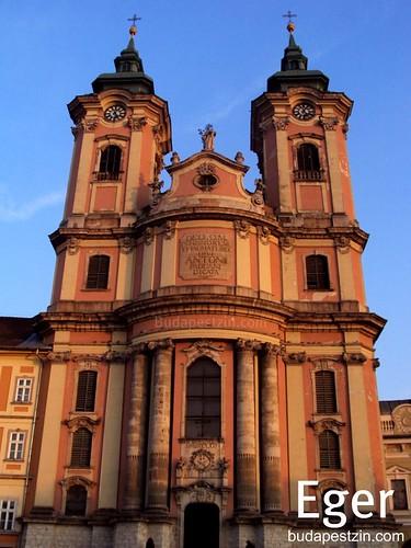 Eger Minorite Church, Hungary Budapest to Eger, Zannnie and Zsolt