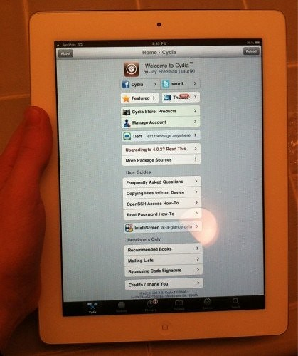 iPad-2 jailbroken